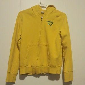 Puma Jamaica edition zip up hoodie